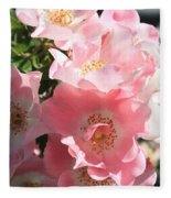 Wild Roses Fleece Blanket