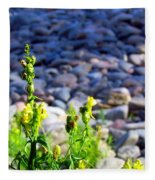 Wild Snapdragons  Fleece Blanket