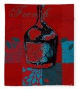 Wild Still Life - 0102b - Red Fleece Blanket