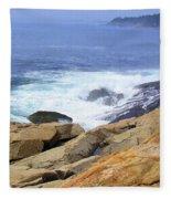 Wild Waves Fleece Blanket