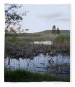 Wild Wetland Fleece Blanket