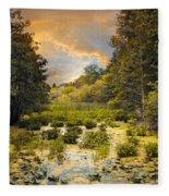 Wild Wetlands Fleece Blanket