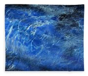 Wild Wild Sea Fleece Blanket