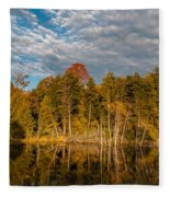 Wilderness Pond 2 Fleece Blanket