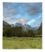 Wilderness Sunset Fleece Blanket