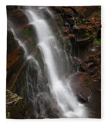 Wilderness Waterfall Dawn Fleece Blanket