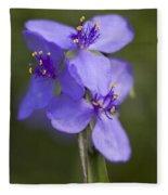 Wildflower Blues Fleece Blanket