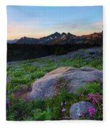Wildflower Dawning Fleece Blanket