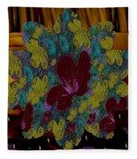 Wildflower Into The Wilderness Fleece Blanket