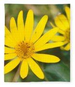 Wildflower Fleece Blanket
