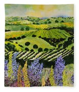 Wildflower Ridge Fleece Blanket