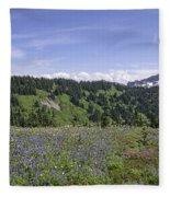 Wildflower Vista Fleece Blanket