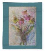 Wildflowers 2 Fleece Blanket