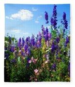 Wildflowers #9 Fleece Blanket