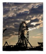 Wildwood Rides Fleece Blanket