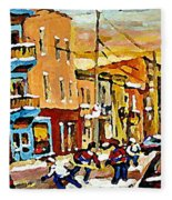 Wilenskys Hockey Paintings Montreal Commissions Originals Prints Contact Artist Carole Spandau  Fleece Blanket