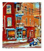 Wilenskys Paintings Hockey Art Prints Originals Commissions Contact Popular Montreal Artist Cspandau Fleece Blanket