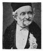 Wilhelm Eduard Weber (1804-1891) Fleece Blanket