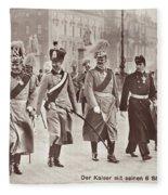 Wilhelm II & Sons Fleece Blanket