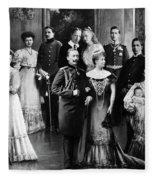 Wilhelm II (1859-1941) Fleece Blanket