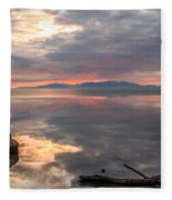 Willard Bay Fleece Blanket