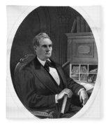 William Almon Wheeler (1819-1887) Fleece Blanket
