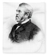 William Burnham Woods (1824-1887) Fleece Blanket