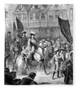 William IIi Of England (1650-1702) Fleece Blanket