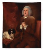 William Lowndes - A Auditor Of His Majesty's Court Of Exchequer  Fleece Blanket