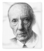 William S. Burroughs Fleece Blanket