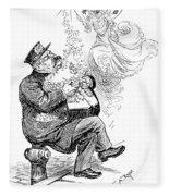 William S Fleece Blanket