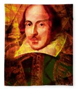 William Shakespeare 20140122 Fleece Blanket