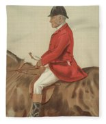 William Ward Tailby Fleece Blanket