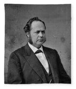 William Windom (1827-1891) Fleece Blanket