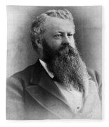 William Worth Belknap (1829-1890) Fleece Blanket