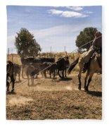 Williamson Valley Roundup 21 Fleece Blanket