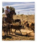 Williamson Valley Roundup 9 Fleece Blanket