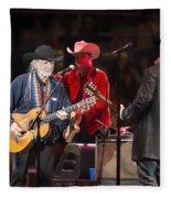 Willie Nelson - Live In Austin Fleece Blanket
