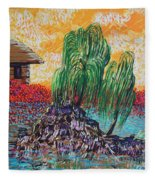 Willow Tree Isle Fleece Blanket