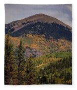 Wilson Peak Colorado Fleece Blanket