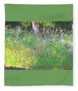 Wimberly Wildflowers Fleece Blanket