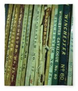 Winchester Catalogs Fleece Blanket
