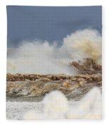 Wind And Ice Fleece Blanket