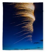 Wind As Light Fleece Blanket