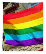 Wind Blown Pride Fleece Blanket