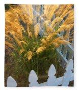 Wind In The Grass Fleece Blanket