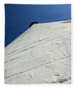 Wind Point Lighthouse 142 Fleece Blanket