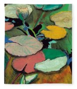 Windchime Spring Fleece Blanket