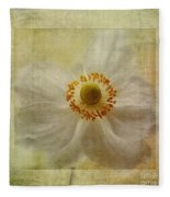 Windflower Textures Fleece Blanket