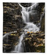 Winding Waterfall Fleece Blanket